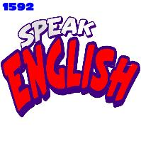 Click to order printed t-shirt 1592... Speak English