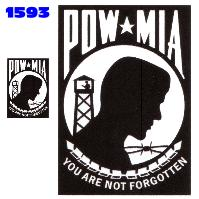 Click to order printed t-shirt 1593... POW MIA You Are Not Forgotten (2 Sided)