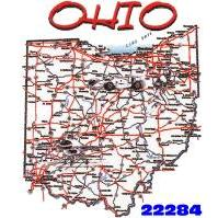 Click to order printed t-shirt 22284... Ohio Map (also available as youth size design #pl?product=y2142&cart_id=