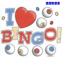Click to order printed t-shirt 22523... I Love Bingo