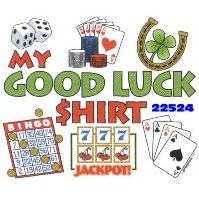 Click to order printed t-shirt 22524... My Good Luck Shirt