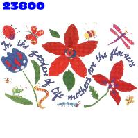 Click to order printed t-shirt 23800... In the garden of Life mother's are the flowers
