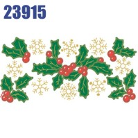 Click to order printed t-shirt 23915... Holly and Snowflakes
