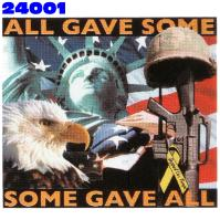 Click to order printed t-shirt 24001... All Gave Some, Some Gave All