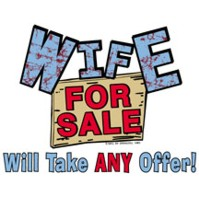 Click to order printed t-shirt 24227... Wife For Sale Will Take ANY Offer!