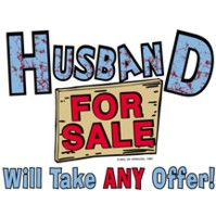 Click to order printed t-shirt 24228... Husband For Sale Will Take ANY Offer!