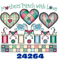 Click to order printed t-shirt 24264... Mothers Patch with Love