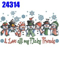 Click to order printed t-shirt 24314... I Love all my Flakey Friends