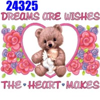 Click to order printed t-shirt 24325... Dreams are Wishes The Heart Makes