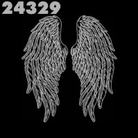 Click to order printed t-shirt 24329... Angel Wings (back print)