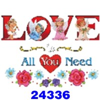 Click to order printed t-shirt 24336... Love is All You Need