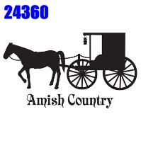 Click to order printed t-shirt 24360... Amish Country