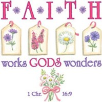 Click to order printed t-shirt 24362... Faith works Gods wonders 1 Chr. 16:9