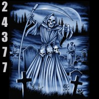 Click to order printed t-shirt 24377... Reaper Cemetary