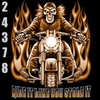 Click to order printed t-shirt 24378... Ride it Like You Stole it.