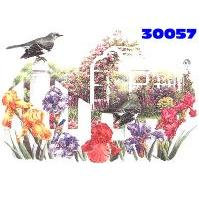Click to order printed t-shirt 30057... Flower Garden