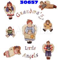 Click to order printed t-shirt 30657... Grandma's(gang) Little Angels