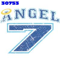 Click here to Order design 30753... Angel 7. (1st quality t-shirts, sweatshirts, tank tops, baby doll tees, scoop neck tshirts and hooded fleece)