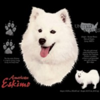 Click to order printed t-shirt 30808... American Eskimo