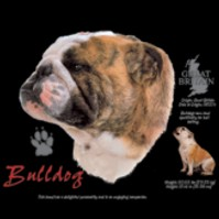 Click to order printed t-shirt 30818... Bulldog