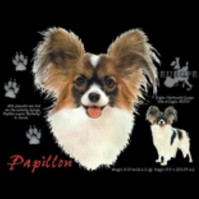 Click to order printed t-shirt 30861... Papillon