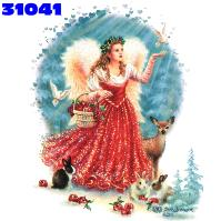 Click here to Order design 31041... Christmas Angel. (1st quality t-shirts, sweatshirts, tank tops, baby doll tees, scoop neck tshirts and hooded fleece)