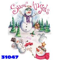 Click here to Order design 31047... Snow Angels. (1st quality t-shirts, sweatshirts, tank tops, baby doll tees, scoop neck tshirts and hooded fleece)