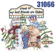 Click to order printed t-shirt 31066... Best Friends are Flakes