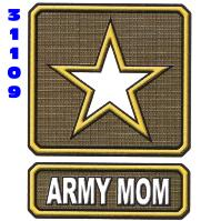 Click to order printed t-shirt 31109... Army Mom