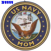 Click to order printed t-shirt 31111... US Navy Mom