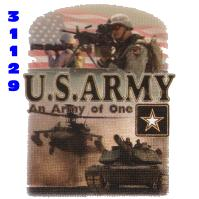 Click to order printed t-shirt 31129... U.S. Army an Army of One
