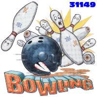 Click to order printed t-shirt 31149... Bowling