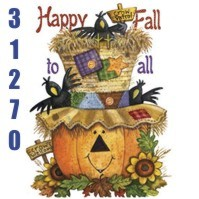 Click to order printed t-shirt 31270... Happy Fall to All