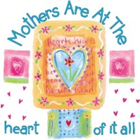 Click to order printed t-shirt 31295... Mothers are at the heart of it all