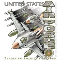 Click to order printed t-shirt 31301... United States Air Force Defending America's Freedom