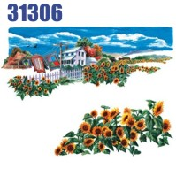 Click to order printed t-shirt 31306... Scenic Sunflowers