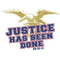 Click to order printed t-shirt 31330... Eagle Justice Has Been Done 05-01-11