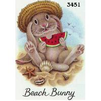 Click to order printed t-shirt 3451... Beach Bunny