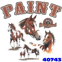 Click here to Order design 40743... Paint My Favorite Farm Animal. (1st quality t-shirts, sweatshirts, tank tops, baby doll tees, scoop neck tshirts and hooded fleece)