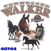 Click here to Order design 40744... Tennessee Walker My Favorite Farm Animal. (1st quality t-shirts, sweatshirts, tank tops, baby doll tees, scoop neck tshirts and hooded fleece)