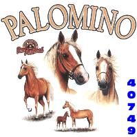 Click here to Order design 40749... Palomino My Favorite Farm Animal. (1st quality t-shirts, sweatshirts, tank tops, baby doll tees, scoop neck tshirts and hooded fleece)