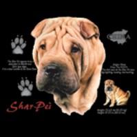 Click to order printed t-shirt 41071... Shar Pei