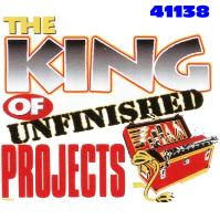 Click to order printed t-shirt 41138... The King of Unfinished Projects