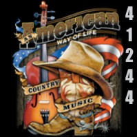 Click to order printed t-shirt 41244... An American Way of Life Country Music