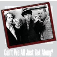 Click to order printed t-shirt 41269... Stooges Can't We All Just Get Along