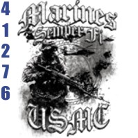 Click to order printed t-shirt 41276... Marines Semper Fi USMC