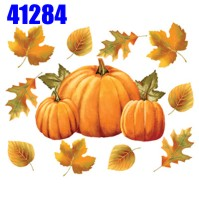 Click to order printed t-shirt 41284... Pumpkins and Leaves