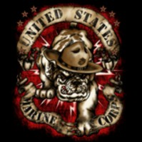 Click to order printed t-shirt 41319... United States Marines Marine Corps
