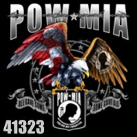 Click to order printed t-shirt 41323... POW MIA All Gave Some Some Gave All