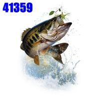 Click to order printed t-shirt 41359... Bass and Hook